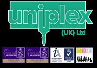 Uniplex logo and QS Logos